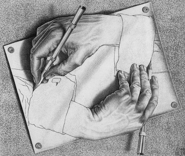 29_Drawing Hands by Escher resize